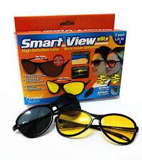 Kawachi Smart View Elite High Definition Sport Sunglasses Yellow & Black K313