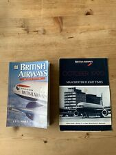 British Airways - Book 1997 & October 1990 Manchester Flight Times