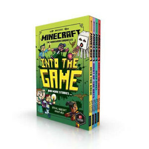 Minecraft: Into the Game – The Woodsword Chronicles Collection 4 Books Box Set