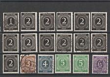 Lot Alliierte Besetzung meist postfrisch Deutsche Post hoher Katalogwert