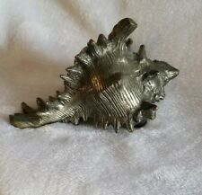 Bronze Murex Sea Shell Statuary of  Detailed Murex Sea Shell