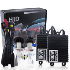 55W 75W 100W Fog Light H11 HID Conversion Kit w/Relay Harness All Xenon Colors