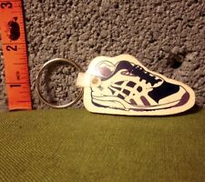 "REEBOK SNEAKER purple tennis shoe 1990s athletic jogging keychain 2"" fitness"