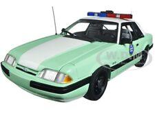 1988 FORD MUSTANG US BORDER PATROL SSP LTD ED 528PCS 1/18 MODEL CAR BY GMP 18845