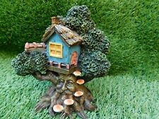 Beautiful Magical Fairy Pixie Tree House Green Man Treehouse Garden Ornament