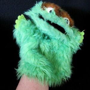 Vtg 70s Oscar the Grouch Puppet Sesame Street Jim Henson Muppets Child Horizons