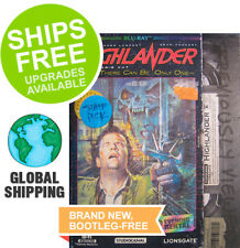 Highlander (Blu-ray, 2018) NEW, VHS Retro Slipcover, Christopher Lambert