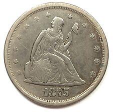 1875-S United States Silver Twenty Cent Piece - VF