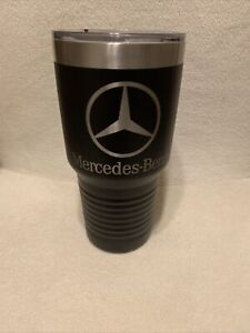 Mercedes Benz Polar Camel 30 oz Coffee Tumbler Mug AMG Daimler | Black | NEW