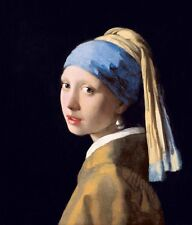 The girl with the pearl earring by Johannes Vermeer Giclee Fine Art Print Repro