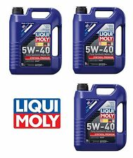 15 Liters Engine Motor Oil Liqui Moly Premium Fully Synthetic 5W40 for Mercedes