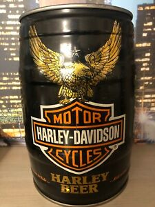 RARE! Harley Davidson empty beer keg can gallon 5 liters LTD edition