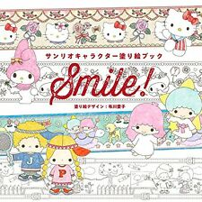 Sanrio characters Coloring book Smile! Hello Kitty My Merody Little twin stars