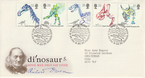 20 AUGUST 1991 DINOSAURS ROYAL MAIL FIRST DAY COVER BUREAU SHS (a)