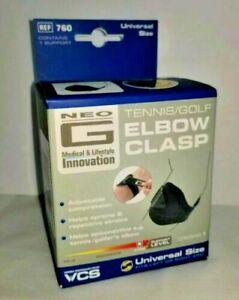 Neo G Tennis / Golf Clasp - Support For Epicondylitis e.g.Tennis Golfers & Elbow