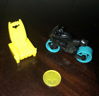 Fisher Price Imaginext Batcycle Wayne Manor Yellow Chair Throne Replacement Lot