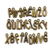 26Pcs/set Latin English Alphabet Letter Charm Pendant Jewelry Bracelet CraftYC