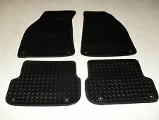 Audi A6 2005-2011 Fully Tailored Deluxe RUBBER Car Mats in Black. 340mm