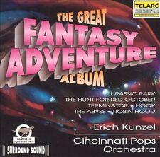 The Great Fantasy Adventure Album by Cincinnati Pops Orchestra/Erich Kunzel...