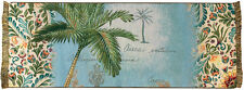Easy Breezy Palm Tree Tapestry Table Runner