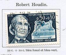 STAMP / TIMBRE FRANCE OBLITERE N° 1690 ROBERT HOUDIN