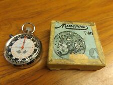 Bradley Tachymeter with Minerva Timer Box Tested & Working - New Crystal