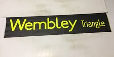 """London Bus Blind ( North West ) 45 42"""" - Wembley Triangle"""