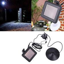 LED Lámpara Sensor Solar Energía Ahorro Control Remoto Colgante de Garaje Jardín