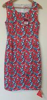 Joe Browns Cactus Lined Shift Wedding Cruise Dress Size 12