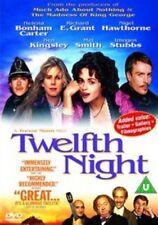 Twelfth Night DVD (uk) Movie 1996 Comedy Drama Romance PAL Region 2 UK