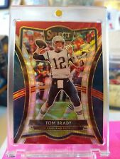 2019 Select #101 Tom Brady Premier Level SP Tricolor Prizm #012/199