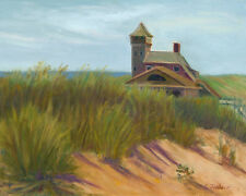 CAPE COD ART, COAST GUARD BEACH, P-TOWN PRINT from Oil Painting by P. Tarlow