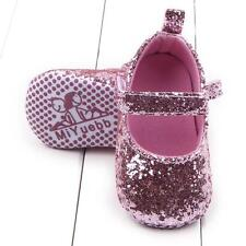 Fashion Toddler Girl Soft Sole Crib Shoes Sequins Sneaker Baby Infant KIDS Shoes