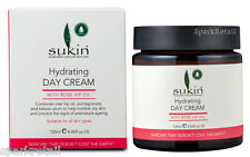 Sukin hydrating DAY CREAM With Rose Hip Oil & Pomegranate All Skin Types 120ml