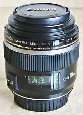 Canon EF-S 60mm f/2.8 MACRO USM Lens - Prime Lens for DSLR - with Hood