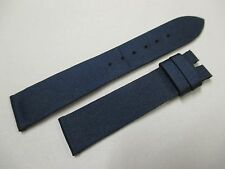 Chopard 18mm x 16mm Satin on Leather Watch Strap Band Pair 105mm & 70mm Segments