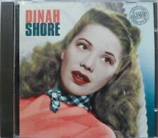 DINAH SHORE:  LEGENDARY SONG STYLIST  NEAR MINT CD FROM 1998  20 GREAT TRACKS