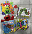 Soft+Cloth+Baby+Books+Early+Learning+Developmental+Toy+Lot+4