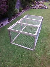 8 aviary panels for chicken ducklings kennel rabbits guinea pigs cat dog pets