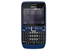 Nokia E Series E63 - Ultramarine blue (Unlocked) Smartphone