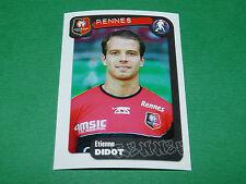N°314 DIDOT STADE RENNAIS RENNES PANINI FOOT 2005 FOOTBALL 2004-2005