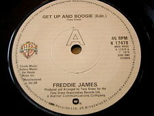 "FREDDIE JAMES - GET UP AND BOOGIE   7"" VINYL"
