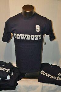 DALLAS COWBOYS Men's JERSEY T-SHIRT WARE, BROOKING, ROMO  NWT Sz Small-Medium