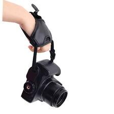PU Leather Soft Camera Hand Grip Wrist Strap for Canon Nikon Sony SLR/DSLR MN