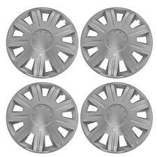 "4 x NEX Wheel Trims Hub Caps 14"" Covers fits Peugeot 106 107 108 206 207 208"
