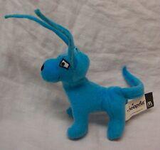 "McDonald's 2005 Neopets Blue Gelert 6"" Plush Stuffed Animal Toy"