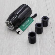 High Quality Black Carbon Fiber Sport Manual Car Gear Shift Knob AU