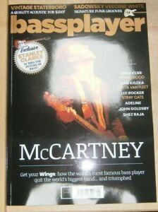 Bass Guitar Player magazine #408 2021 Paul McCartney Mike Kerr Sam Kiszka Adelin