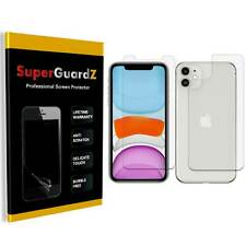 4-PACK SuperGuardZ Clear FULL BODY Screen Protector Guard Shield For iPhone 11