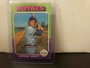 1975 Topps George Brett Rookie #228 Royals RC